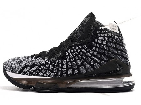 Nike LeBron 17 'Ashes' Negro/Blanco Hombres Mujer