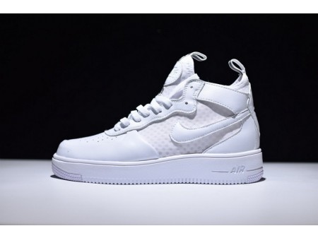"""Nike Air Force 1 Ultraforce Mid """"Summit Blanco"""" 864025-100 para Hombres y Mujeres"""
