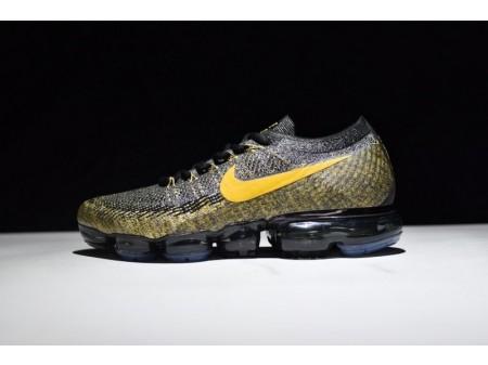 Nike VaporMax Negro Dorado 849558-006 para Hombres