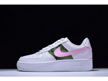 Born Originals Nike Air Force 1 Rosa Blanco 315115-112 para Hombres y Mujeres