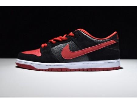 Nike Dunk Low Pro Sb Jpack Rojo-Negro 304292-039 para Hombres y Mujeres