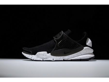 Nike Sock Dart en blanco y negro 833124-001 para hombres y mujeres