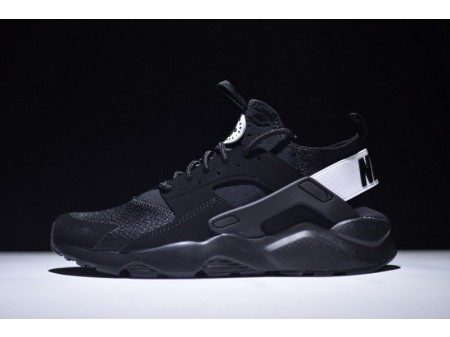 Nike Air Huarache Ultra Run Id Negras/Blancas 752703-991 para Hombres y Mujeres