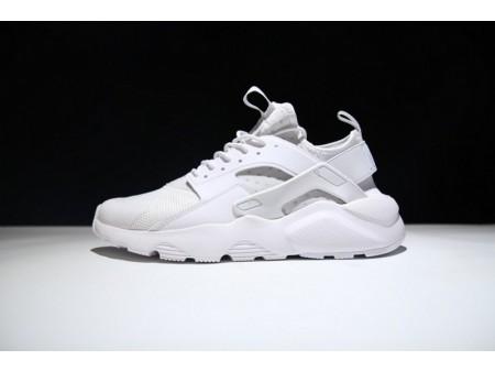 Nike Air Huarache Run Ultra Triple Blanco 819685-101 para hombres y mujeres