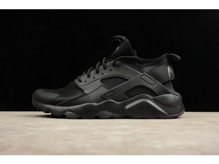 Nike Air Huarache Run Ultra Triple Negro 819685-002 para Hombres y Mujeres