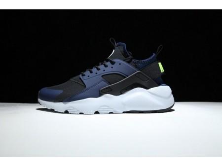 Nike Air Huarache Run Ultra Marino Negro 819685-403 para Hombres y Mujeres