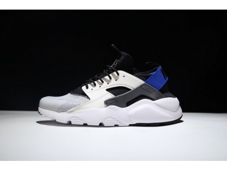 Nike Air Huarache Run Ultra Blanco Azul 819685-100 para Hombres y Mujeres