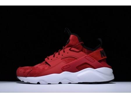 Nike Air Huarache Ultra Suede ID Rojo Universidad 829669-666 para hombres y mujeres