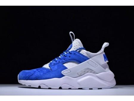 Nike Air Huarache Ultra Id Suede Royal Azul 829669-663 para hombres y mujeres