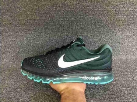 Nike Air Max 2017 Negro/Verde Stone 849559-002 para Hombres