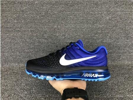 Nike Air Max 2017 Negro Royal Azul Obdsidian 849559-400 para Hombres