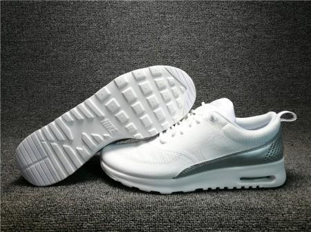 Nike Air Max Thea Textile Blanco/Blanco 819639-100 para Hombres y Mujeres