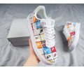 """Nike Air Force 1 Flyknit """"Patchwork"""" 2.0 Hombres Mujer AV3042-600"""