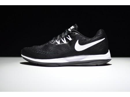Nike Zoom Winflo 4 Preto/Branco Antracite 898466-001 Homens
