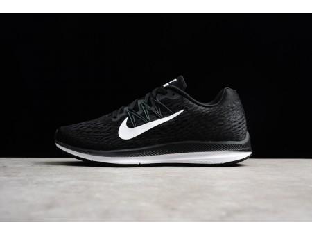 Nike Zoom Winflo 5 Preto/Branco Antracite AA7406-001 Homens Mulheres