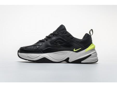 """Nike M2K Tekno """"Preto/Volt"""" AO3108-002 Homens Mulheres"""