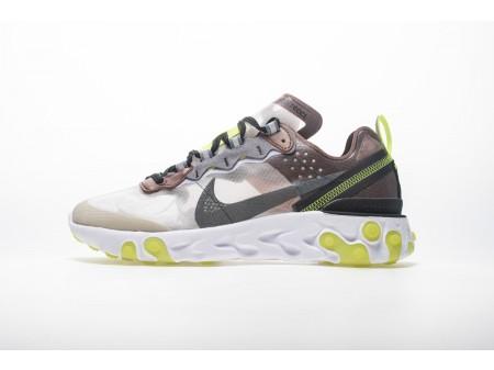 Nike React Element 87 Desert Areia AQ1090-002 Homens Mulheres