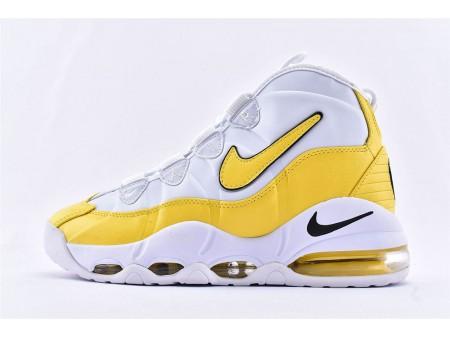 Nike Air Max Uptempo 95 Lakers Branco Amarelo CK0892-102 Homens