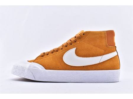 Nike SB Blazer Zoom Mid XT Circuit Laranja/Branco 876872-819 Homens e Mulheres