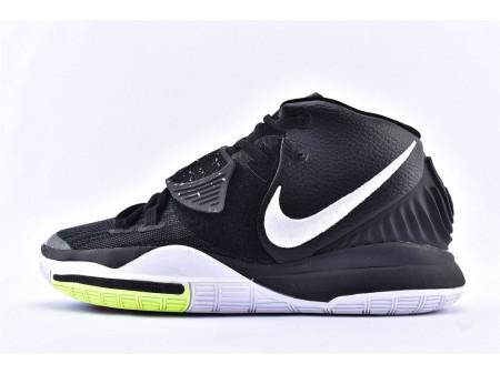 Nike Kyrie 6 EP Preto Branco Verde BQ9377-001 Homens