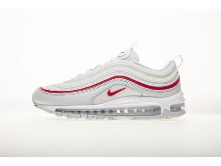 Nike Air Max 97 OG Universidade Vermelho Pure Platinum Branco AR5531 002 Homens e Mulheres