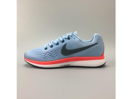 Nike Air Zoom Pegasus 34 Azul gelo 880555-404 Homens Mulheres
