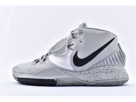 Nike Kyrie 6 EP Cinza Preto Branco BQ9377-101 Homens