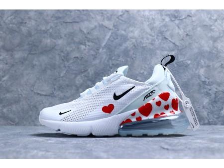 """Nike Air Max 270 """"Love/Branco Gaze"""" AR0499-108 Mulheres"""