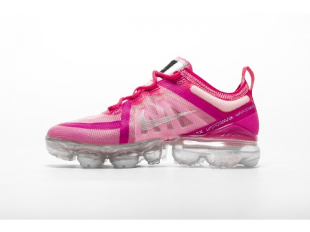 "Tênis Nike Air VaporMax 2019 ""rosa"" AR6632-600 para mulheres"