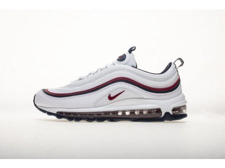 """Nike Air Max 97 Branco """"Esmagamento Vermelho"""" 921733 102 Homens e Mulheres"""