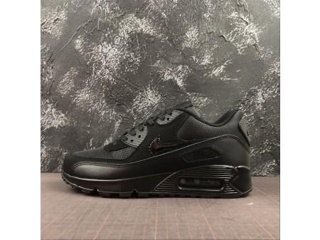 Nike Air Max 90 Triplo Preto 537384-090 Homens Mulheres