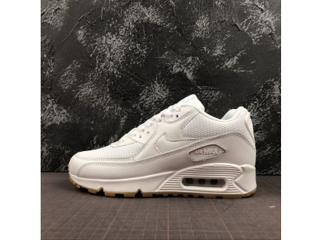 Nike Air Max 90 Branco Gum 325213-135 Mulheres