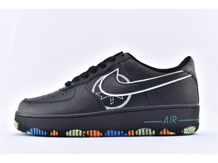 """Nike Air Force 1 Low """"NYC Parks"""" Preto CT1518-001 Homens"""