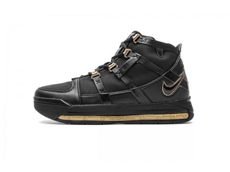 Nike Zoom Lebron III QS Preto/Dourado Metálico AO2434-001 Homens