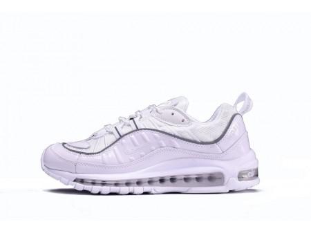 Supreme X Nike Air Max 98 All Branco 844694-002 para homens e mulheres