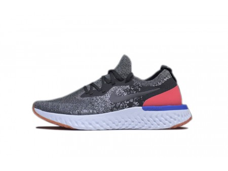 Novo Nike Epic React Flyknit preto vermelho Órbita AQ0067-006 para homens