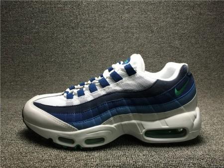 Nike Air Max 95 Og Branco Ardósia Azul 306251 131 para Homens