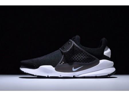 Nike Sock Dart KJCRD preto e branco 819686-005 para homens e mulheres