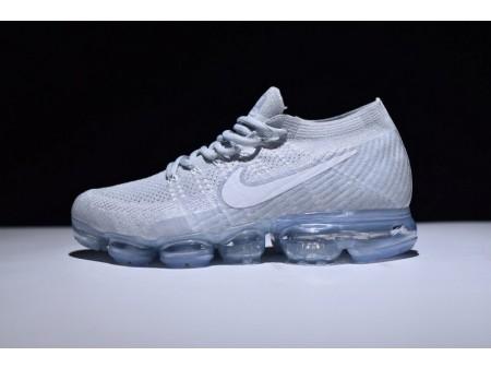 Nike VaporMax Pure Platinum Branco Cinzento 849558 004 para Homens