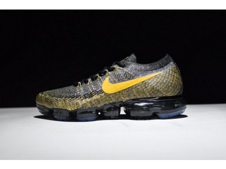 Nike VaporMax preto ouro 849558-006 para homens