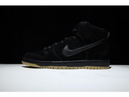 Nike Dunk High Pro SB Preto Gum 305050-029 para homens