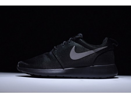 Nike Roshe Run One Antracite Preto 511882-096 para Homens e Mulheres
