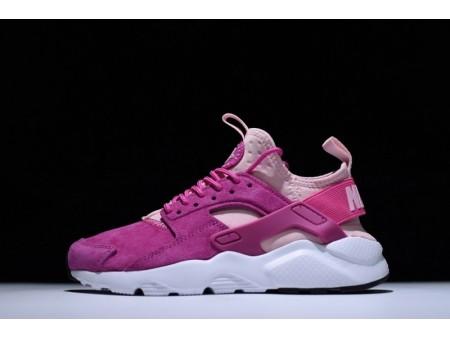 Nike Air Huarache Ultra Id Rosa Rosa 829669-600 para Mulheres