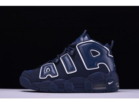 Nike Air More Uptempo QS AIR Marinha Obsidian 921948-400 para homens e mulheres