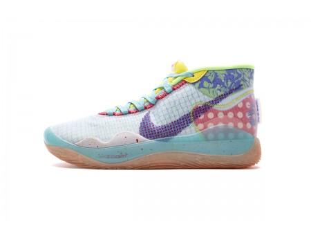Nike Zoom KD12 EYBL NRG EP Teal Tint Rood Orbit CK1197-300 Heren