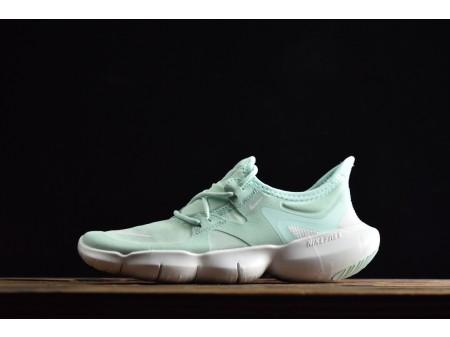 Nike Dames Free Rn 5.0 Teal Tint/Wit 2019 Dames AQ1316-301