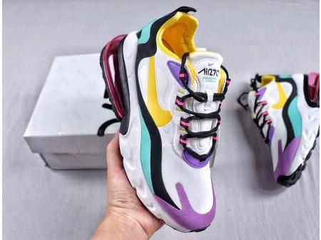 Nike Air Max 270 React Bright Paars AO4971-101 Dames