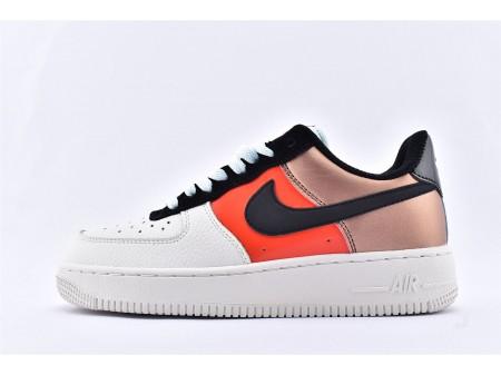 Nike Air Force 1 Low Metallic Rood Brons Zwart CT3429-900 Dames