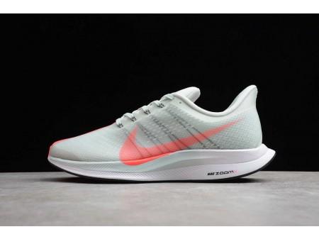 Nike Zoom Pegasus 35 Turbo Barely Grijs Hot Punch Zwart AJ4114-060 Heren