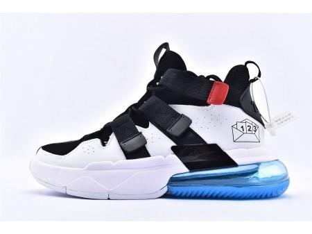 Nike Air Edge 270 High NBA Draft Lottery Basketbalschoenen Zwart Wit AJ9713-001 Heren en Dames